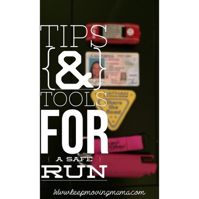 Tips & Tools for a safe run