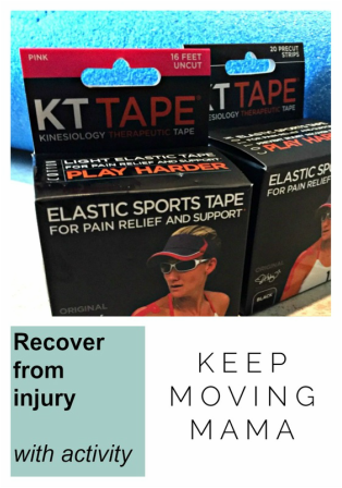 Proactive recovery from injury -keep moving mama